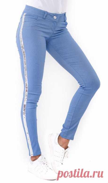 Выкройка джинс размеры 32 - 46евро