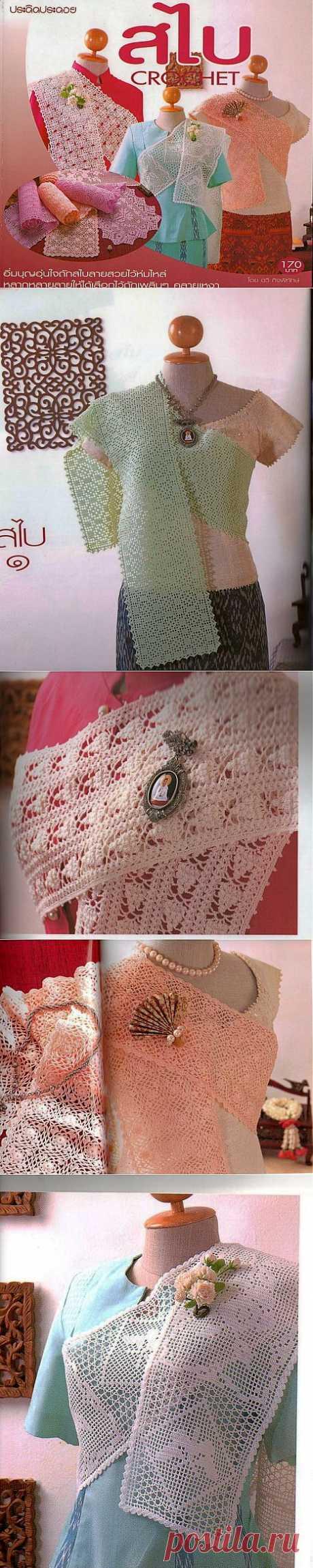 «Crochet шарфики».