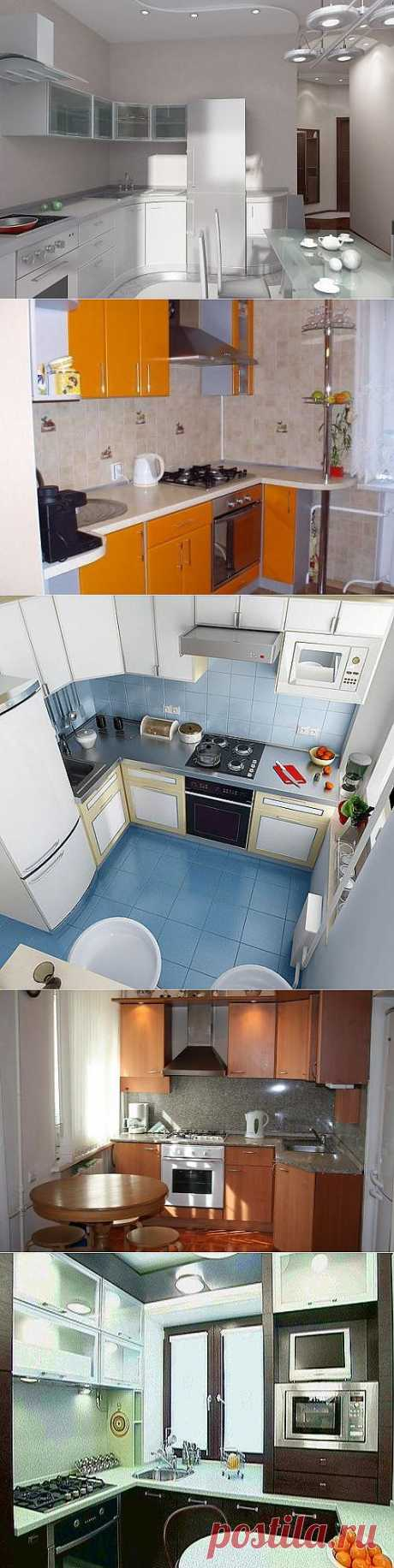 Кухни 10 кв. м. Фото