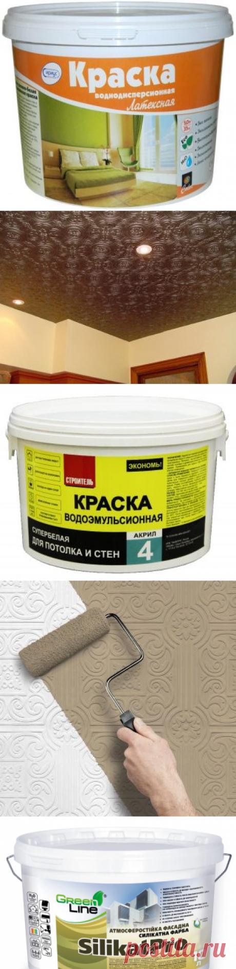 Можно ли красить потолочную плитку из пенопласта и чем: правила выбора