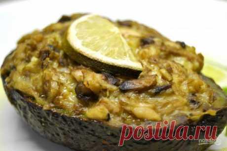 Фаршированный авокадо в духовке - пошаговый рецепт с фото на Повар.ру