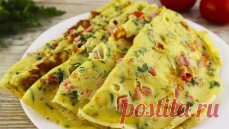Вкуснятина на завтрак из яиц за считанные минуты!