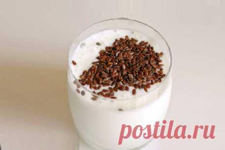 Льняная диета — кефир с льняной мукой | Life Pozitive.com