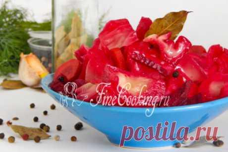 Маринованная капуста Пелюстка - рецепт с фото