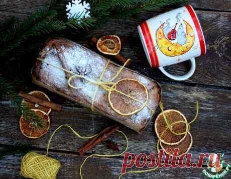 Рождественский творожный бездрожжевой кекс – кулинарный рецепт