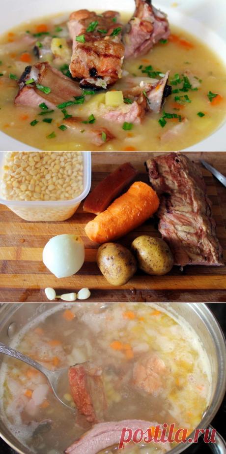 Три главных правила горохового супа | Домашняя кухня | Яндекс Дзен