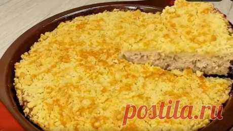 Горячее блюдо из курицы!😍Вкусный рецепт на праздничный стол!