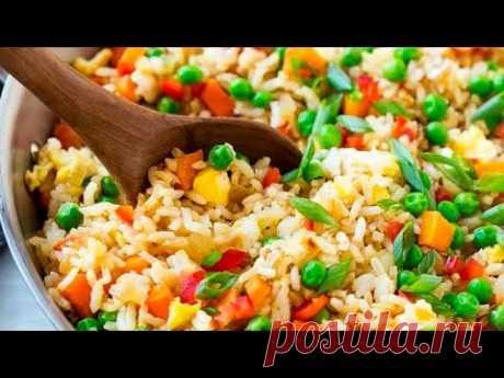 Рис с овощами - простой рецепт | Как приготовить рассыпчатый рис на сковороде Рис с овощами - простой рецепт за 20 минут. Как правильно приготовить рассыпчатый рис на сковороде с овощами.СМОТРИТЕ ТАКЖЕ: ▶ Овощные блюда https://www.yout...