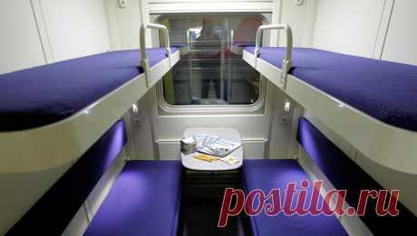 В РЖД объяснили, могут ли пассажиры с верхних полок сидеть на нижних - Новости Mail.Ru