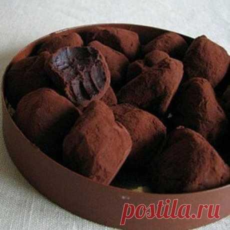 Трюфели шоколадные элементарные рецепт – выпечка и десерты