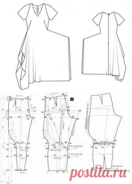 Бохо стиль: выкройки платьев, юбок, сарафанов, туники, блузы, кардигана, брюк для полных женщин… | Тысяча и одна идея