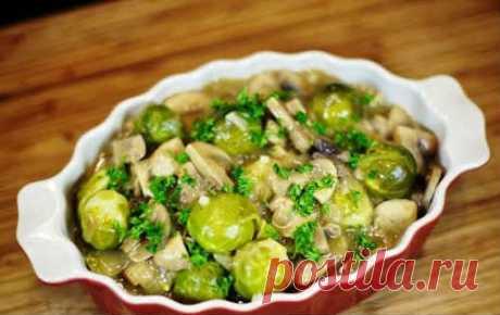 Брюссельская капуста - 10 рецептов приготовления (быстро и вкусно)