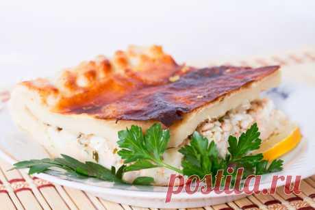 Вкуснейший рыбный пирог на Масленицу