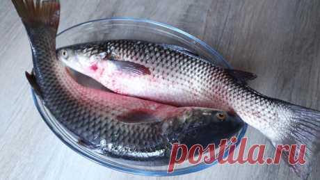 Как почистить рыбу, чтобы чешуя не летела во все стороны. Интересный способ