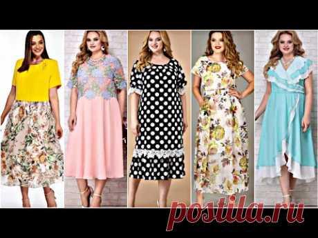 КОРОЛЕВСКИЙ ШИФОН ! Нарядные платья из шифона 2021! Unreal beauty elegant dresses for full woman