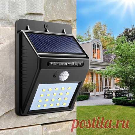 102.91руб. 25% СКИДКА|Водонепроницаемый 20 светодиодный светильник на солнечной батарее с датчиком движения настенный светильник для сада|Автоматизация зданий|   | АлиЭкспресс Покупай умнее, живи веселее! Aliexpress.com