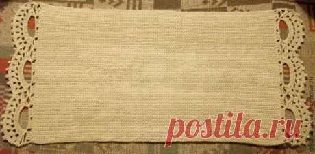 Как связать традиционный деревенский коврик на новый лад - Ярмарка Мастеров - ручная работа, handmade