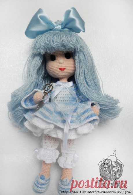 Куколка Мальвина - приглашение связать.