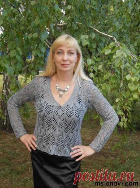 Женские пуловеры от Аллы Стожаровой - Вяжем с Лана Ви