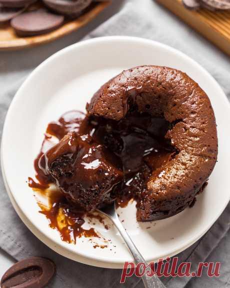 Настоящий шоколадный фондан (лава-кейк) | Andy Chef (Энди Шеф) — блог о еде и путешествиях, пошаговые рецепты, интернет-магазин для кондитеров |