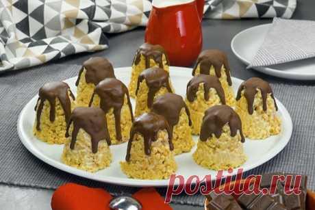 Тертое печенье «Башенки» со сгущенкой. Простой десерт на каждый день