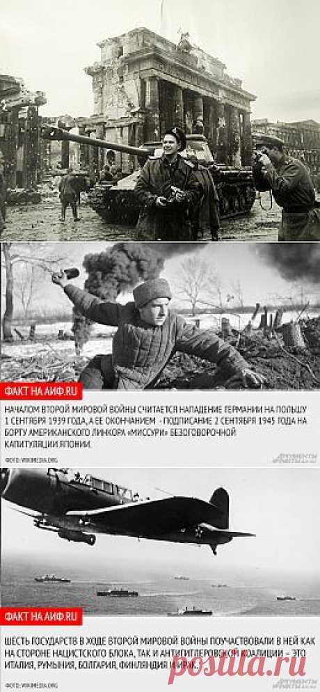 Всемирный пожар. 10 фактов о Второй мировой войне - Главное - Общество - Аргументы и Факты