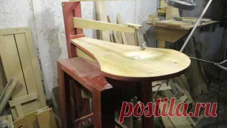 Как я делал лобзиковый станок из дерева. Чертежи. Часть 1 | Столярка дома | Яндекс Дзен