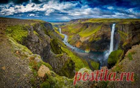 «Затерянный каньон Исландии». Автор фото — Антон Шевелов: