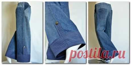 Дети выросли из джинсов! Мастер-класс+идеи