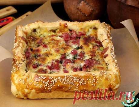 """Пирог с картофелем """"Сытный"""" – кулинарный рецепт"""