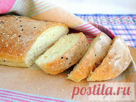 Картофельный хлеб в духовке - с хрустящей корочкой и «пушистой» мякотью