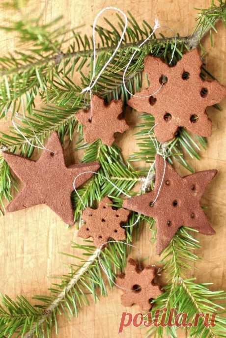 Печенье украшение на ёлку.