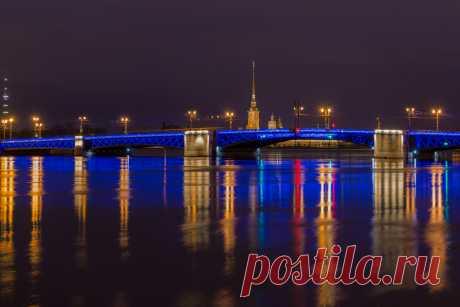 Фотография Синий мост из раздела город №6506106 - фото.сайт - Photosight.ru