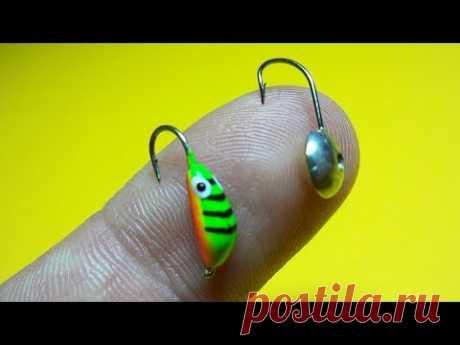 Как привязать две мормышки   Зимняя рыбалка   Fishing Knots - YouTube