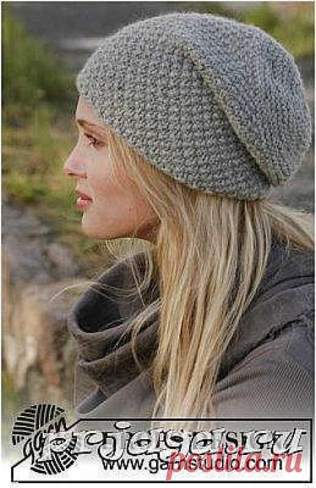 Вязаная шапка спицами для начинающих мастериц