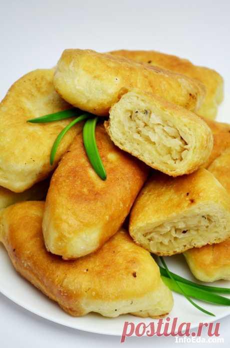 Пирожки с квашеной капустой – пошаговый рецепт с фото | InfoEda.com
