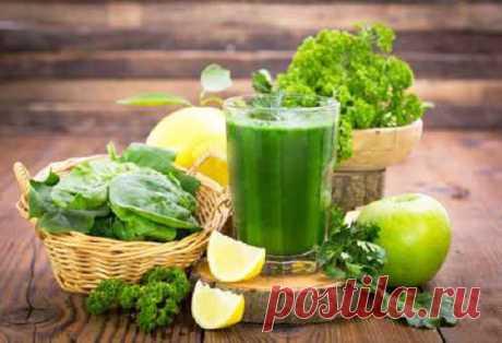 Витаминный смузи за 2 минуты. ♥ Зелёный коктейль для здоровья и красоты Супер витаминная бомба - Зеленое смузи - это не только очень полезно, но и невероятно вкусно.