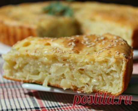 Пирог с капустой нежный – пошаговый рецепт с фотографиями