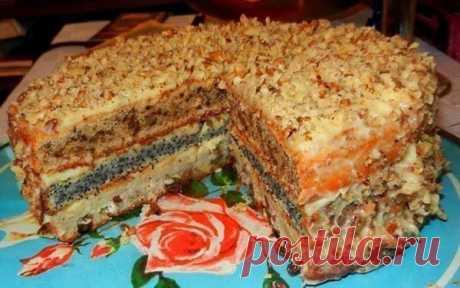 Обалденный домашний торт! Обалденный домашний торт!