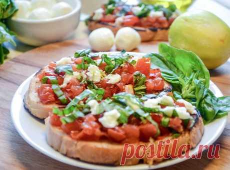 Изображение:Брускетта капрезе - пошаговый рецепт с фото, ингредиенты, как ... Найдено в Google. Источник: hi-chef.ru.