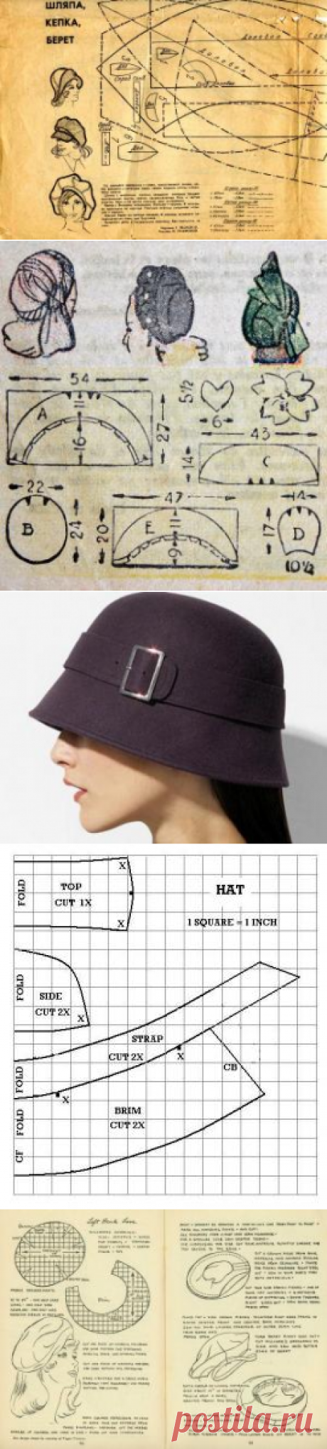 Buscar posts: выкройка шапки
