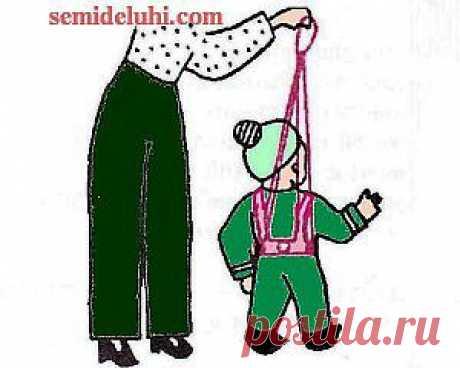 Детский поводок-вожжи своими руками.