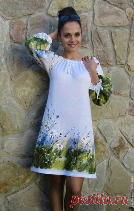 Простая выкройка платья трапеция с рукавом реглан на размеры от 38 до 64 и как сшить | Шьем с Верой Ольховской | Яндекс Дзен
