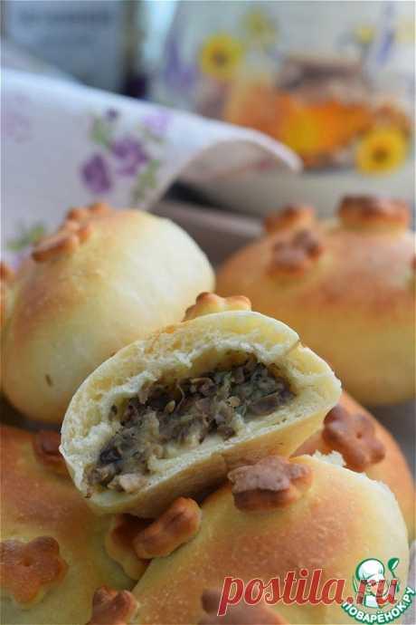 Пирожки картофельные с чечевицей и грибами – кулинарный рецепт