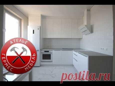 Белая кухня в Однушку. Обзор № 98