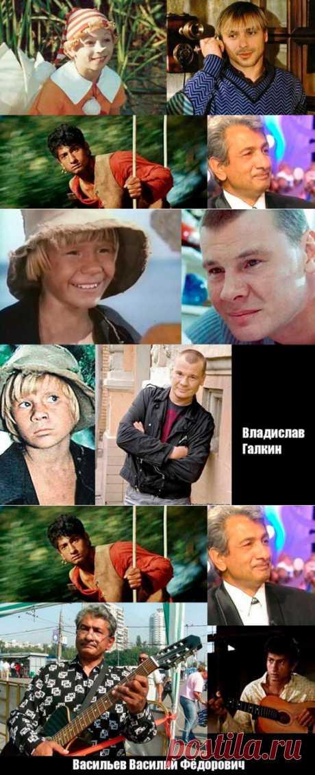 Как выглядят сейчас «звёздочки» советских фильмов | Time for rest