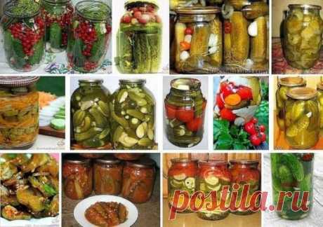 15 SUPER RECIPES OF CUCUMBERS.\u000aKeep not to lose!\u000a1. Pickles with red currant\u000a2. Cucumbers in hot tomato sauce\u000a3. Cucumbers with apples (marinated and fresh-salted).\u000a4. Salty cucumbers for the winter.\u000a5. Marinated cucumbers with a gooseberry\u000a6. Pickles for the winter.\u000a7. The pickles sterilized without vinegar\u000a8. Salting of cucumbers in banks – the simplest and tasty recipe.\u000a9. Pickles and tomatoes (very simple and tasty recipe)\u000a10. Confidential recipe of astounding cucumbers