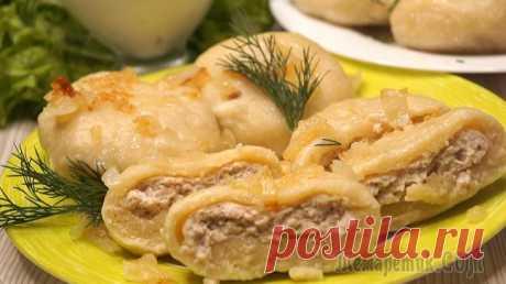 Настоящее ОБЪЕДЕНИЕ из картофеля, Да еще и с мясом! Быстрый и вкусный Ужин! Получаются необыкновенно вкусные, нежные и сытные. Ингредиенты самые доступные, готовятся просто и быстро. Расходятся всегда просто на Ура.ИНГРЕДИЕНТЫ Картофель – 500 гр.Сливочное масло – 50 гр.Мука –...