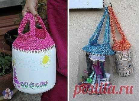 Неожиданно удачная и практичная идея переработки пластиковых бутылок