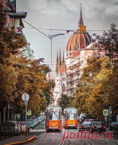 Хочу бродить по осеннему Будапешту и пить горячее какао ...